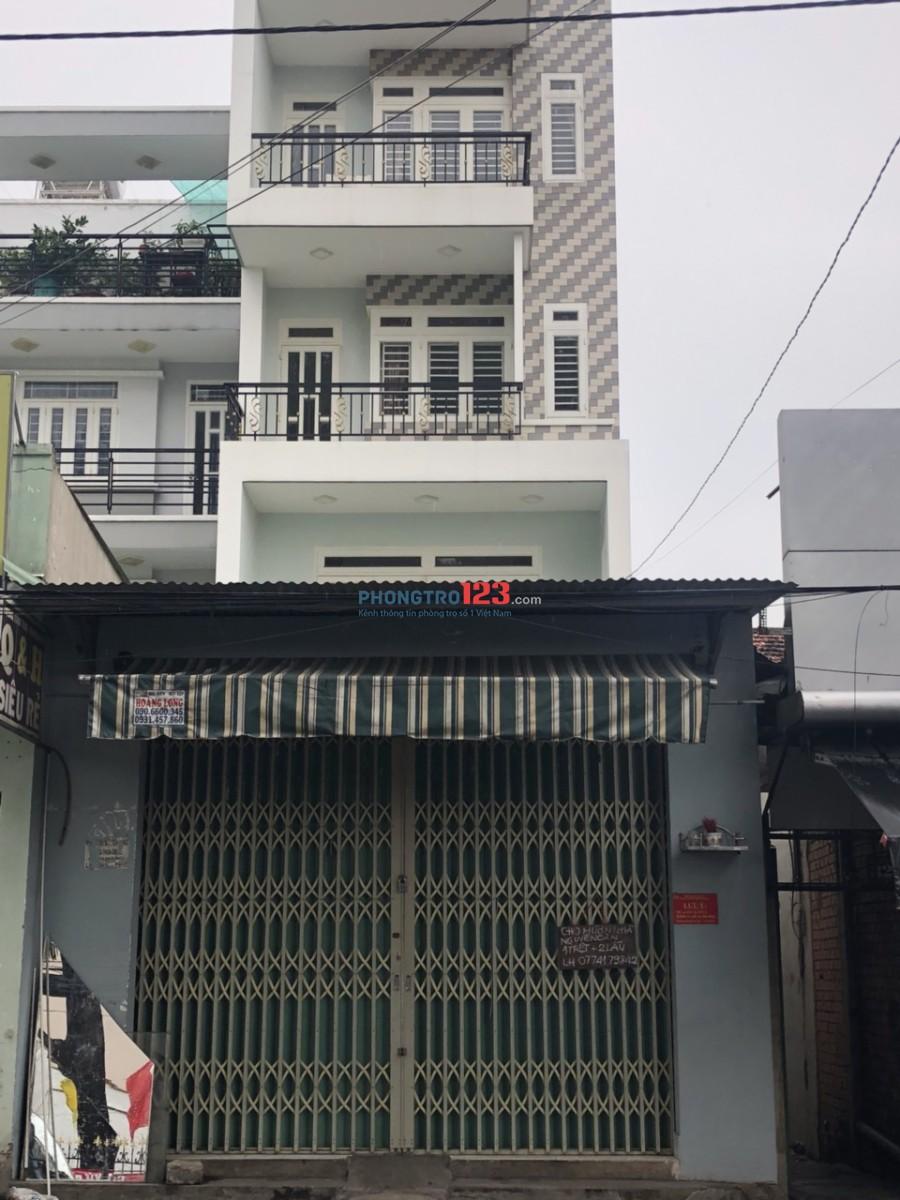 Cho thuê nhà nguyên căn mặt tiền KD 827 Tân Kì Tân Quý - 1 mặt bằng + 2 lầu