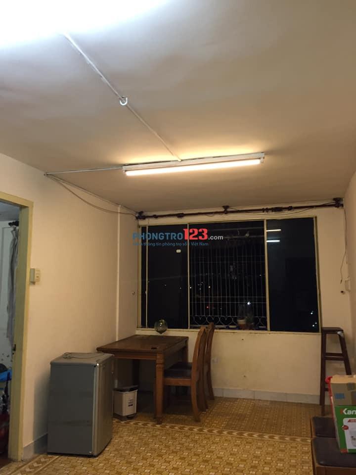 Mình cần share 1 phòng trong chung cư Thanh Đa, Bình Thạnh cho nữ, không chung chủ, giờ giấc tự do