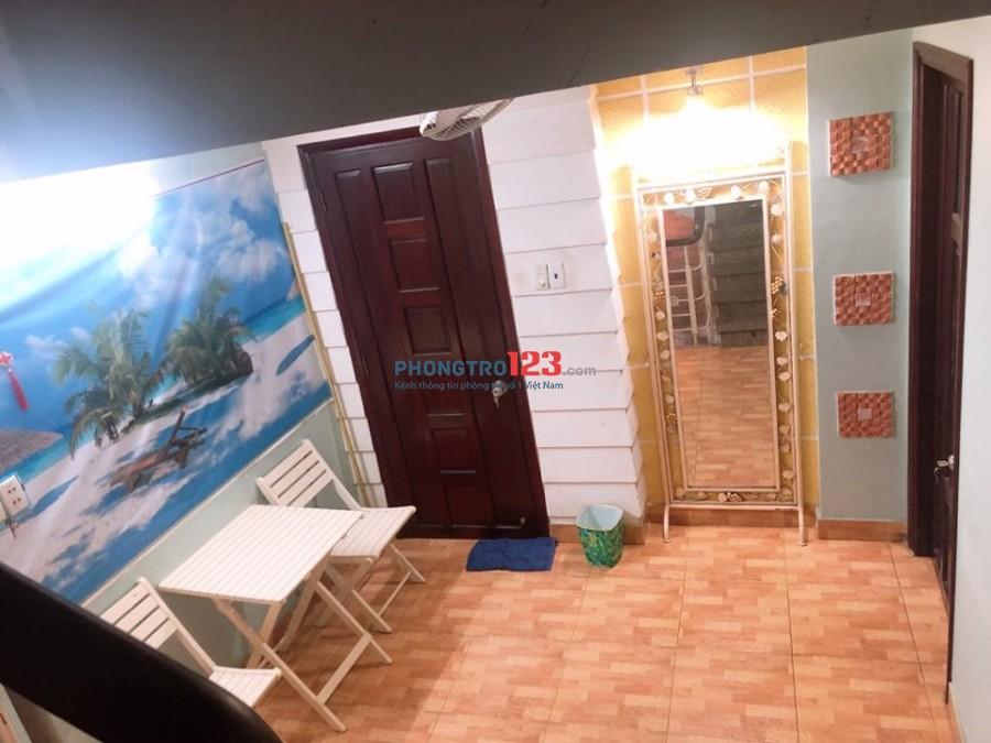 Phòng cho thuê cao cấp ngay trung tâm quận 1, đường Trần Hưng Đạo gần Phố Tây Bùi Viện, chợ Bến Thành full nội thất