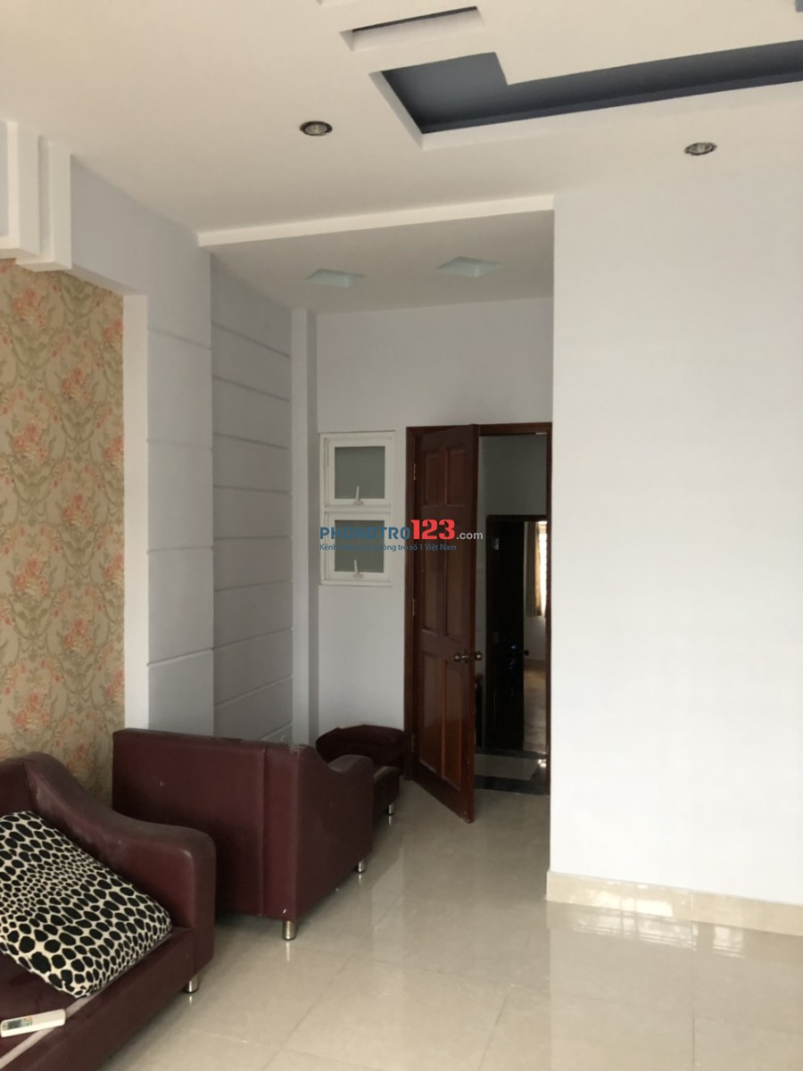 Cho thuê nhà mới nguyên căn 3 lầu 5pn 420m2 hẻm 7m tại Phạm Văn Chiêu, Gò Vấp