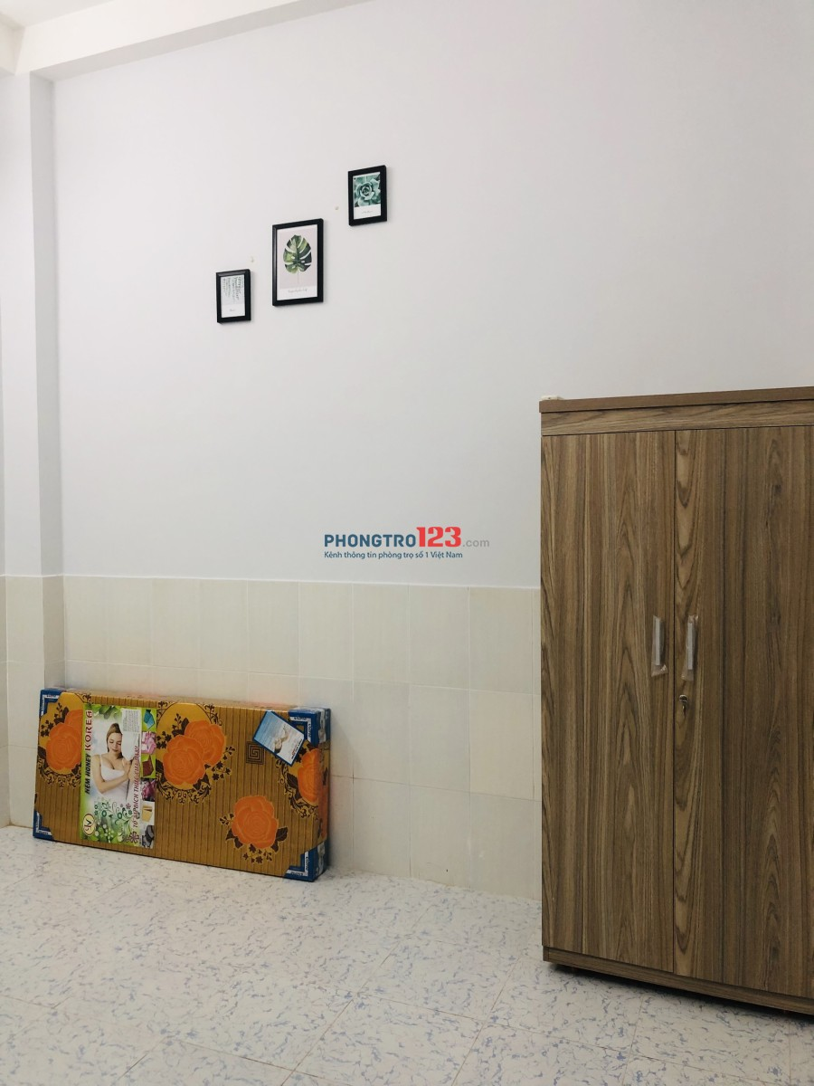 Phòng trọ full nội thất Bình Thạnh gần UEF HuTech 4tr3