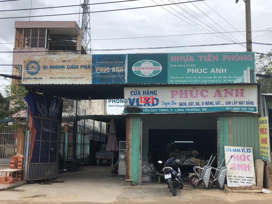 Chính chủ cho thuê nhà nguyên căn 5x30 cấp 4 mặt tiền 1576 Nguyễn Duy Trinh, Q.9