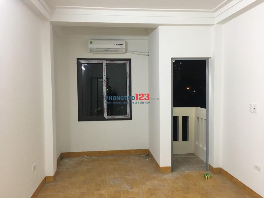 Cho thuê căn hộ mini mới xây dựng tại Trung Kính