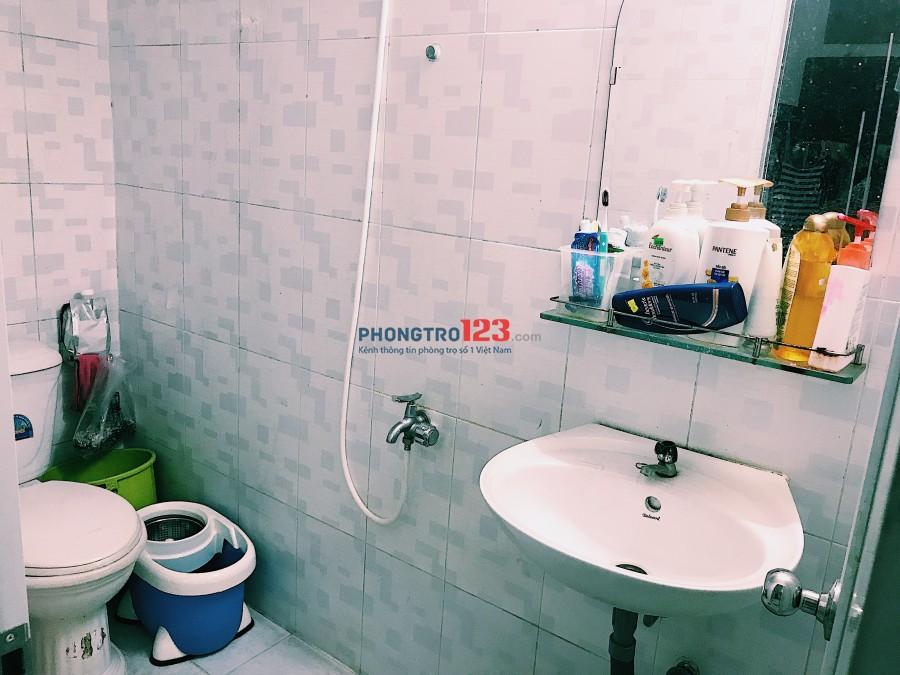 Cần 1 nữ ở ghép giá 2.000.000 ở gần trường đại học Hồng Bàng Tân Phú, sạch sẽ
