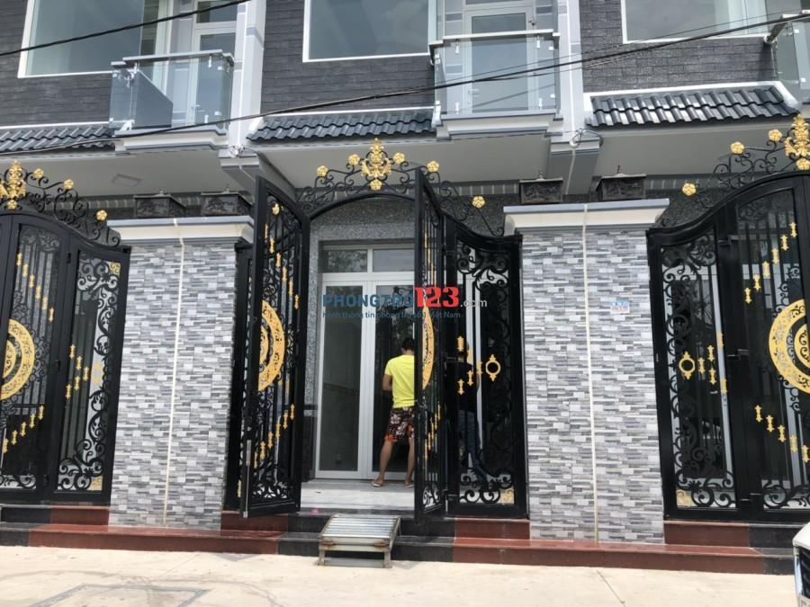 Chính chủ cho thuê nhà mới nguyên căn 2 lầu 4x16 Khu An Lạc, Huỳnh Bá Chánh, Q.8