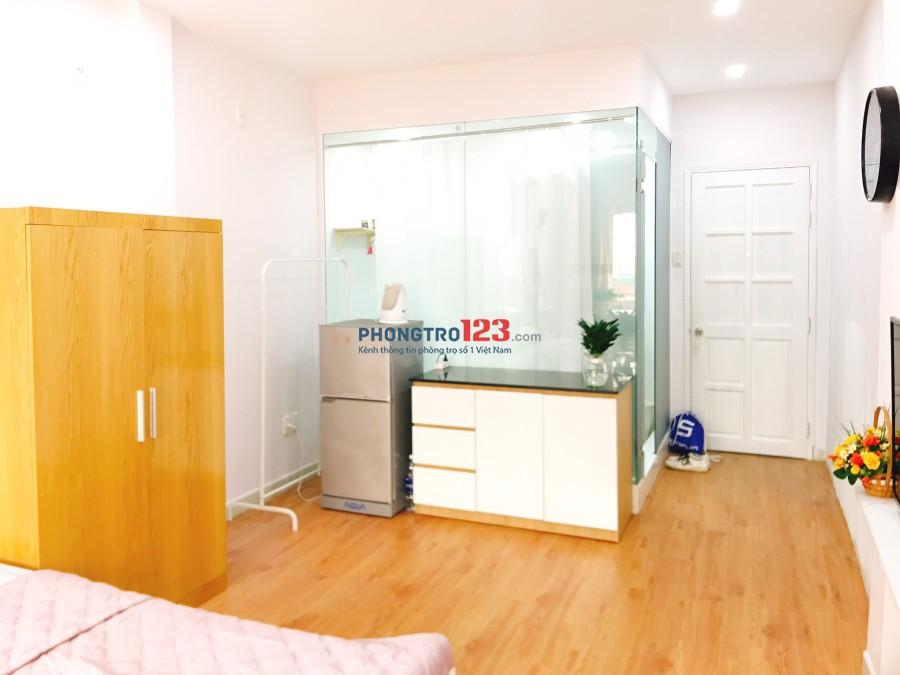 Studio Full nội thất cao cấp, 39m2 Trần Đình Xu, Quận 1, balcony, ánh sáng tốt 0907283677