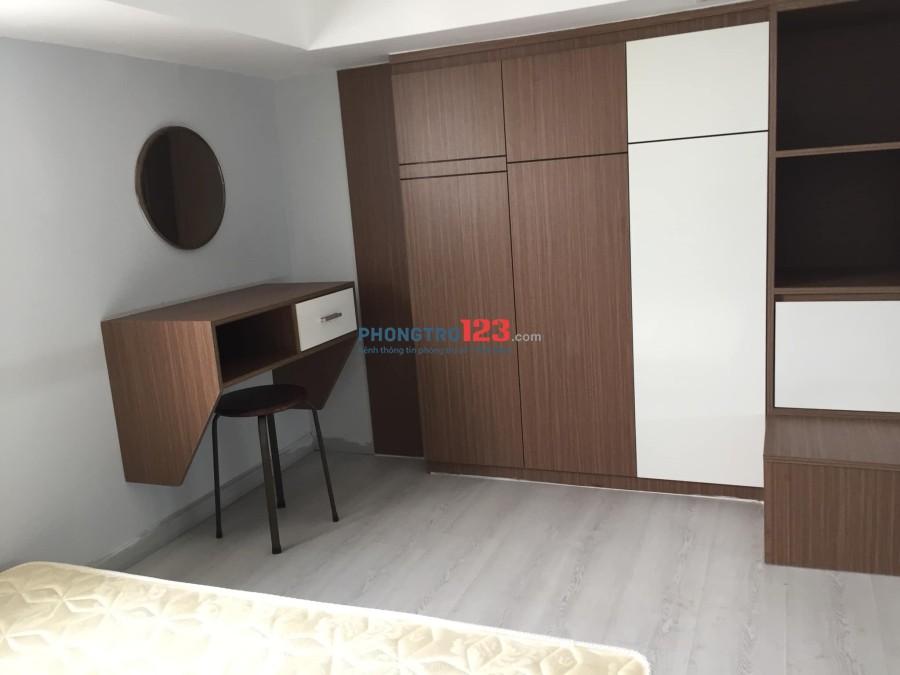 Cho thuê căn hộ mini quận 7, gần lotte, dạng duplex, giờ giấc tự do!