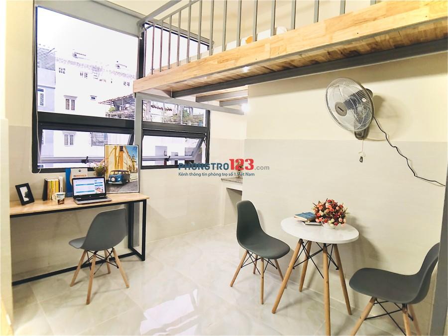 Chính chủ cho thuê căn hộ mới xây 30m2, sát BigC Trường Chinh, Tân Bình