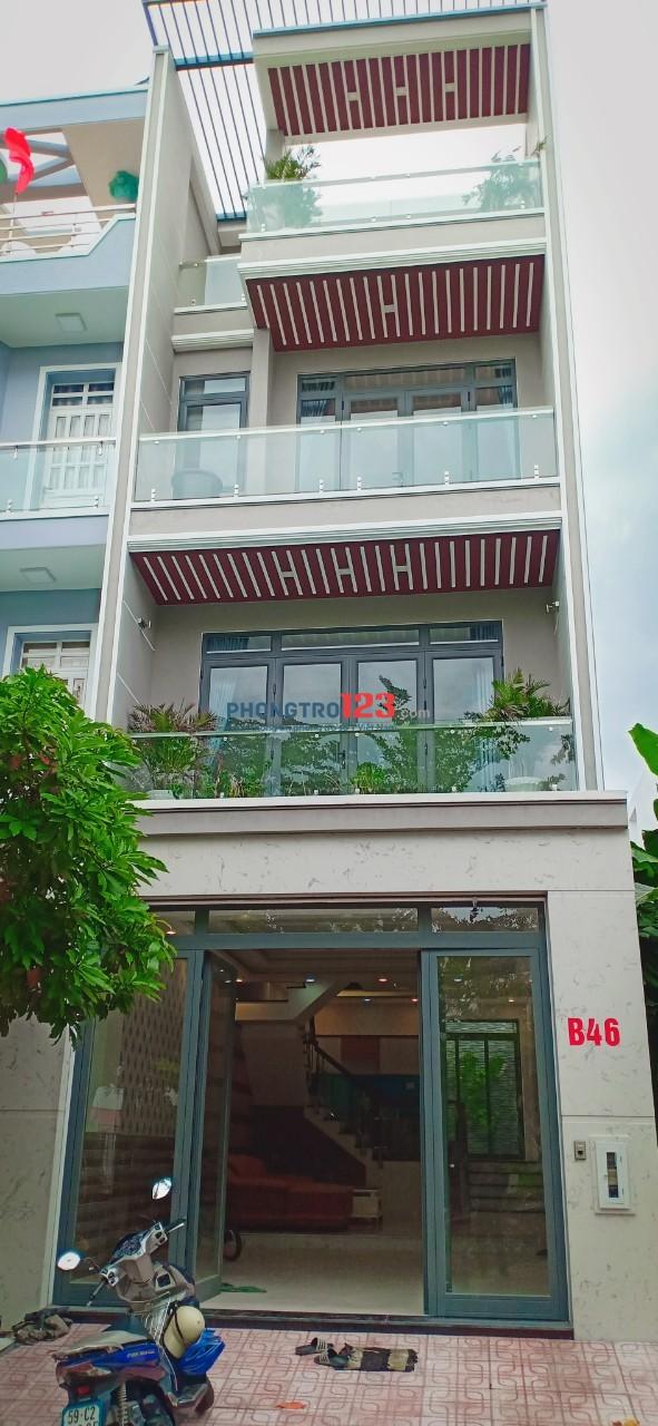 Cho thuê nhà nguyên căn 3 lầu 5x20 có nội thất Ngay KDC Phú Mỹ, Q.7. Lh Mr Thành