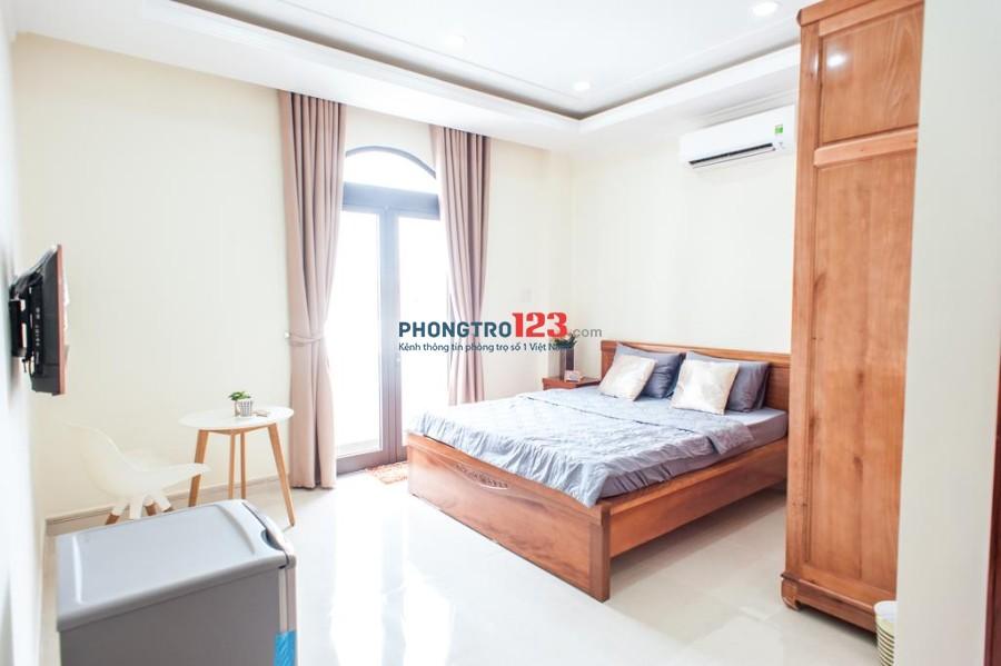 Căn hộ mini 30m2 Huỳnh Văn Bánh, đầy đủ tiện nghi, thoáng mát, giá 5,6tr/tháng