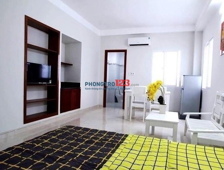 Cho thuê căn hộ đẹp, giá rẻ, full nội thất, 35m2