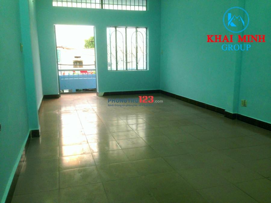 Phòng rộng 40m2, có ban công, 42 Chu Văn An, Bình Thạnh