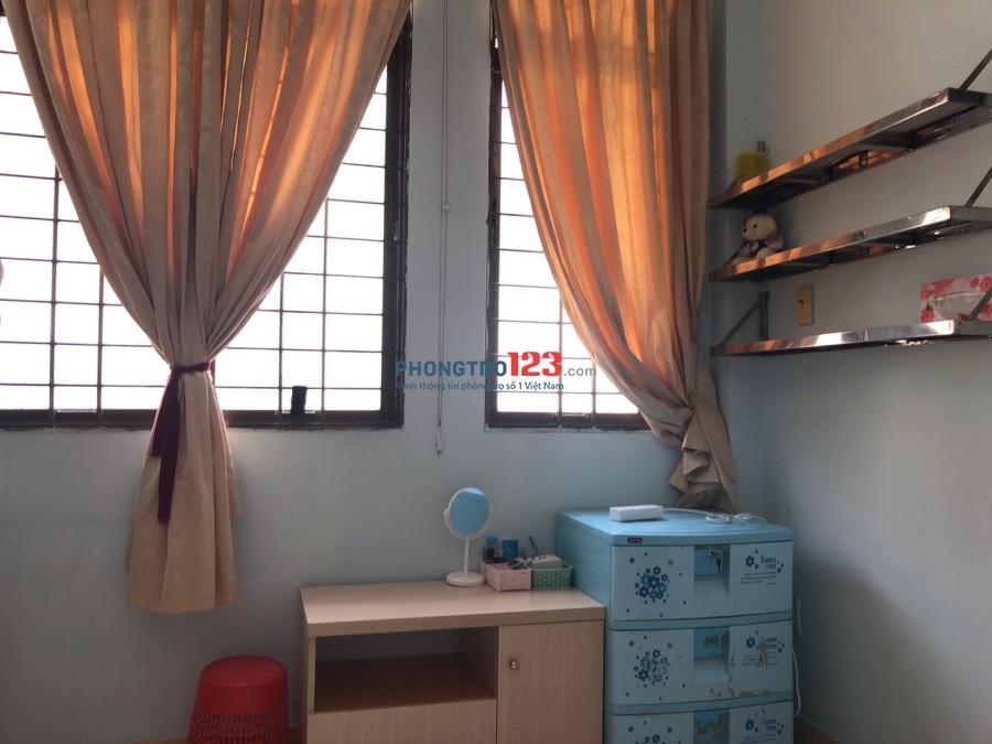 Cho thuê phòng có nội thất bao điện nước hẻm 131A Nguyễn Thị Minh Khai, Q.1, giá 5,5tr/tháng