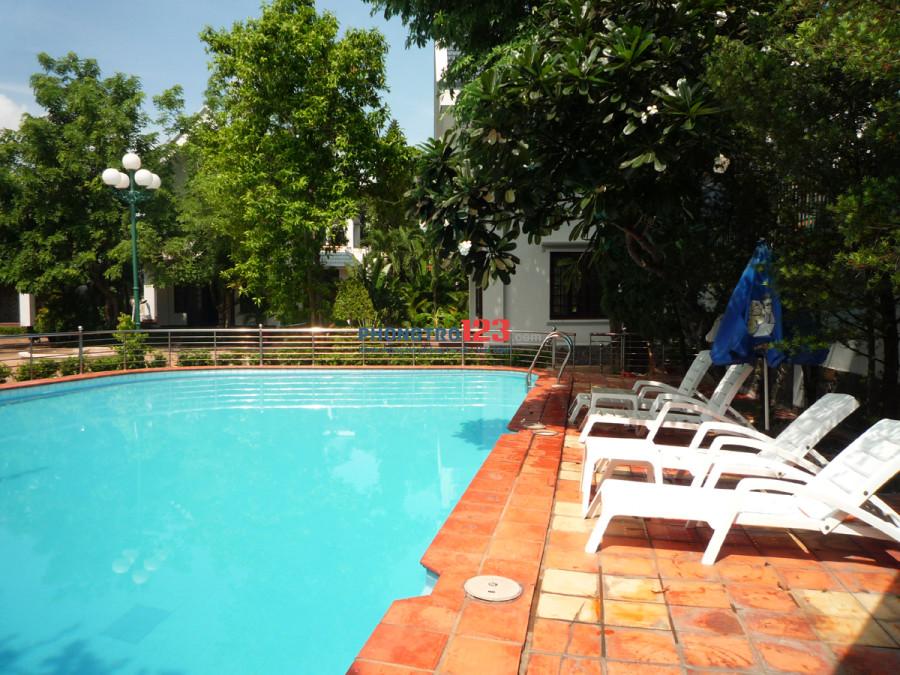 Cho thuê biệt thự đường An Phú, quận 2 / có hồ bơi, sân vườn rộng