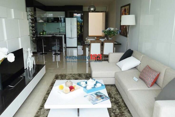Cần cho thuê gấp căn hộ tầng 12 khu Opal Riverside sát Gigamall, 71m2, 2PN, full nội thất