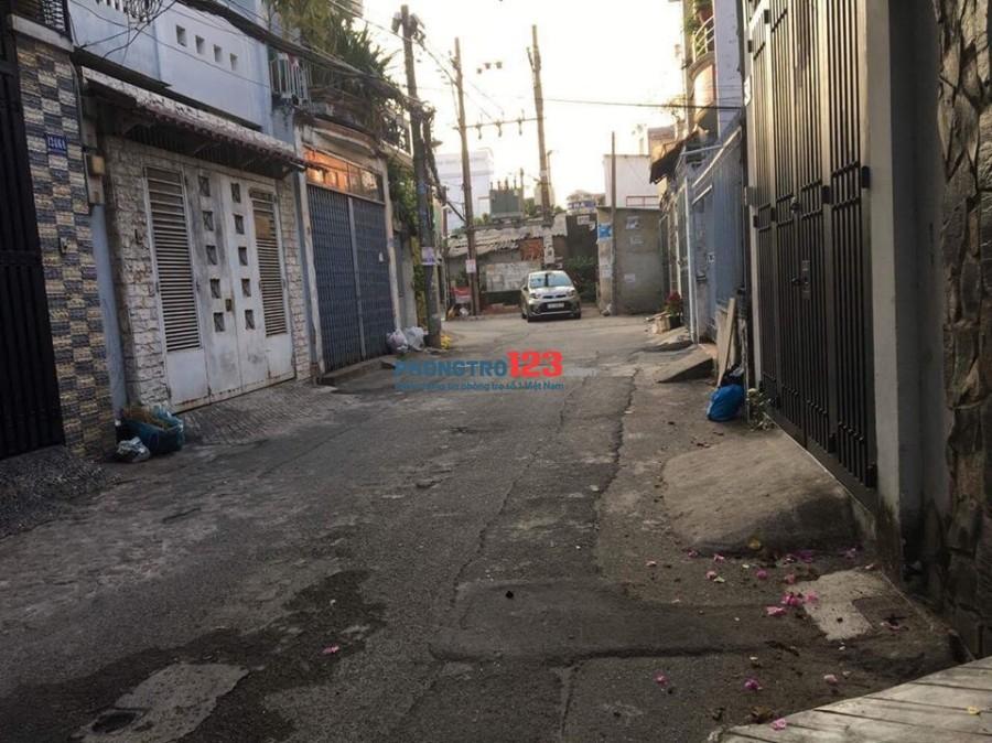 Cho thuê nhà 124/9 Phan Huy Ích, P.15, Q.Tân Bình