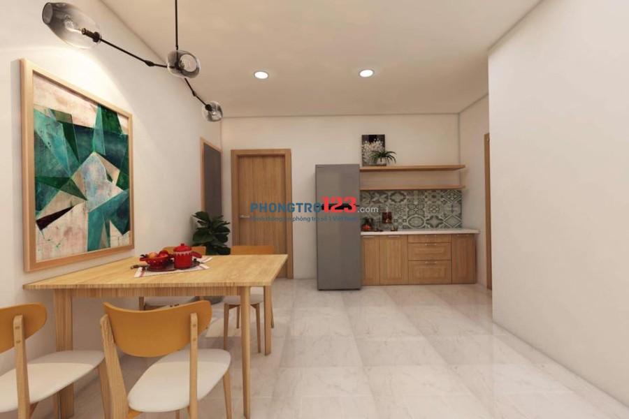 Cho thuê căn hộ cao cấp ở Trung tâm Tân Bình. Mới xây 100% full tiện nghi