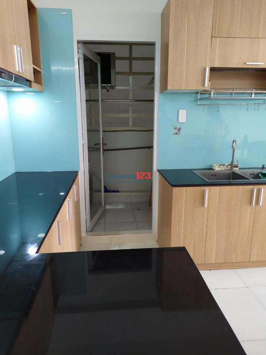 Cho thuê căn hộ Happy City Bình Chánh, gần ngay Quốc Lộ 50, 67m2, 2PN, nhà trống, giá 6tr/tháng