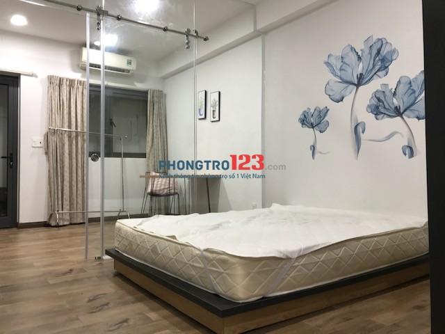 Cho nữ hoặc cặp vợ chồng thuê phòng 35m đủ nội thất