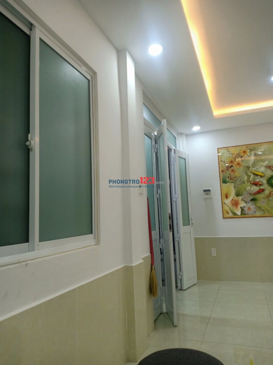 Cho Thuê Nhà 1 Trệt 1 Lầu Phan Tây Hồ, P.7, Phú Nhuận