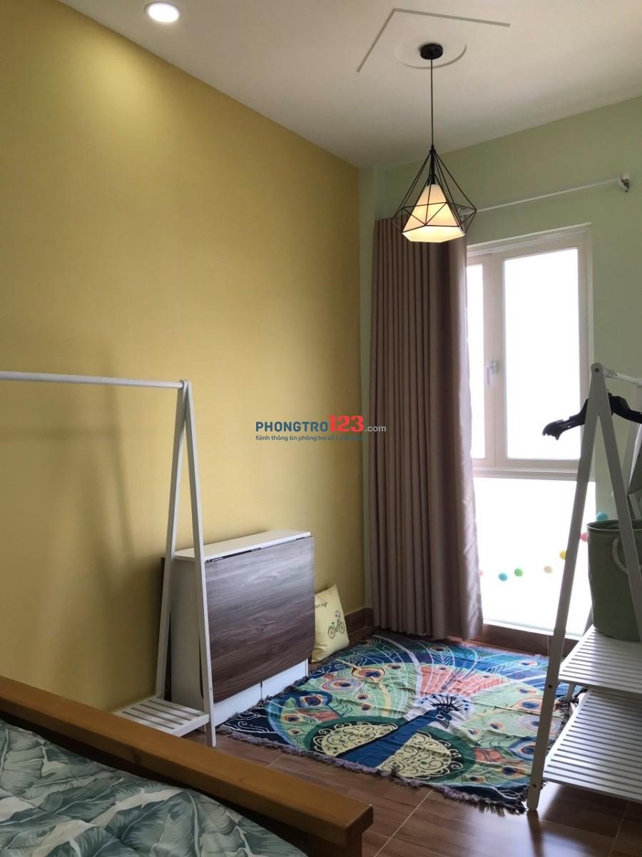 Phòng cho thuê full nội thất Quận Bình Thạnh 25m²