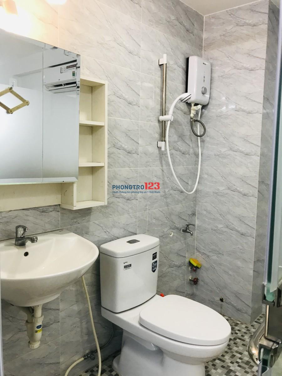 Phòng cho thuê full nội thất cao cấp Quận 10 28m²