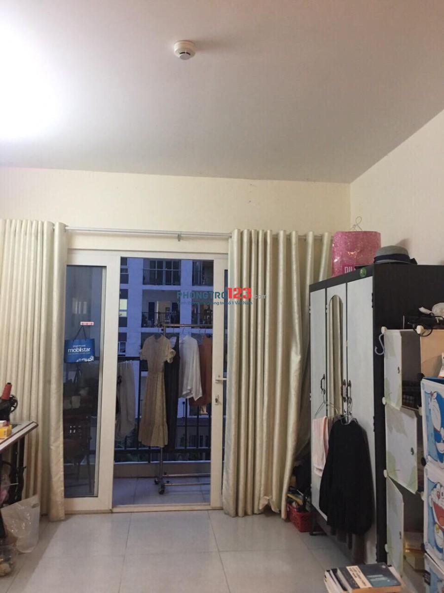 Cho thuê 1 phòng trong chung cư bộ công an Q.2