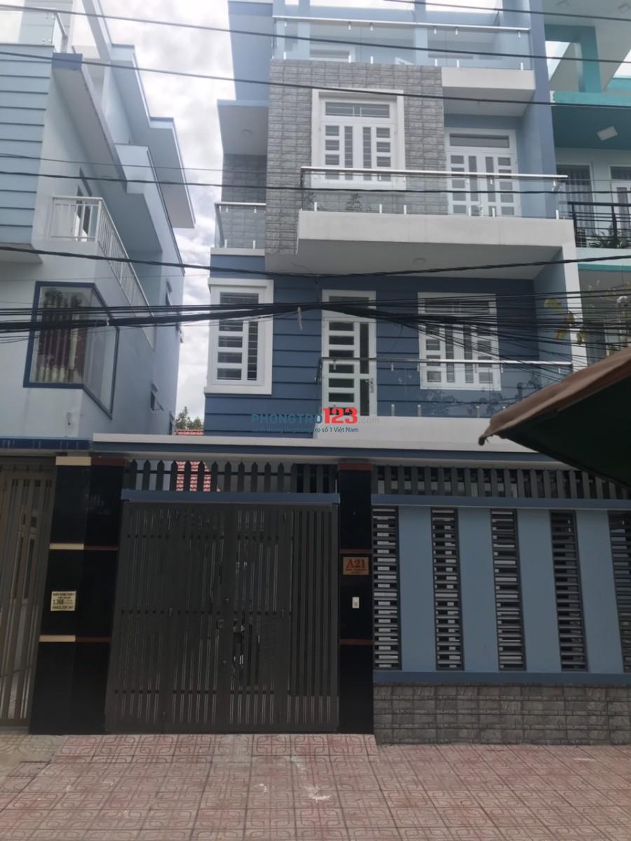 Cho thuê nhà nguyên căn 3 lầu 7x19 6pn ngay KDC Tanimet Hóc Môn