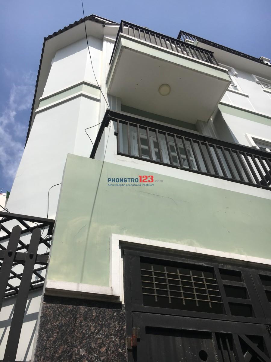 [NHÀ Bình Thạnh] Cho thuê nhà nguyên căn 1 trệt 2 lầu 3PN