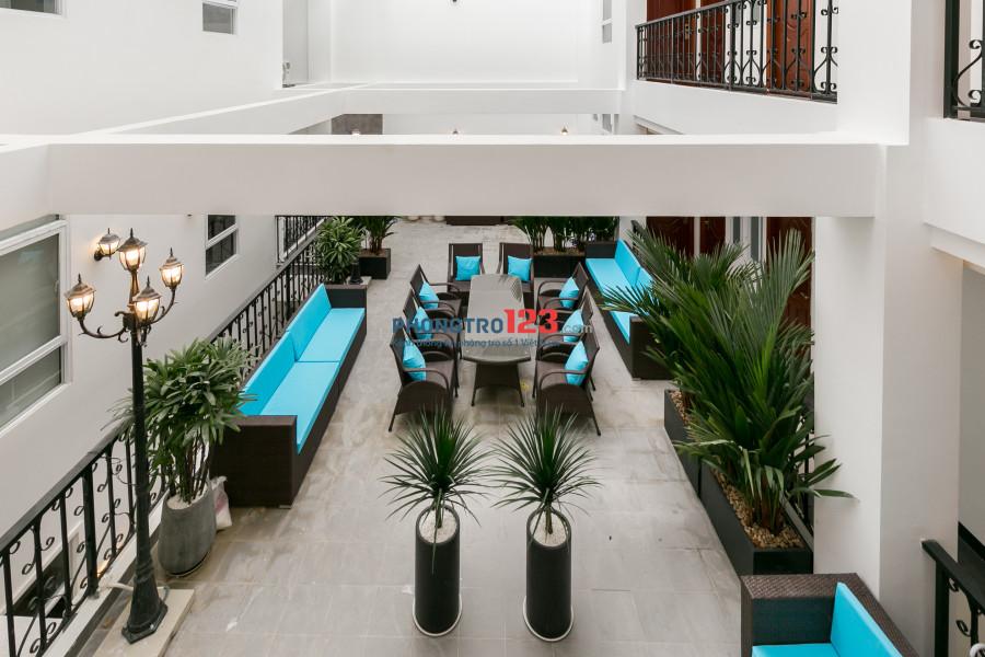 Cho thuê căn hộ full nội thất ở Phú Nhuận