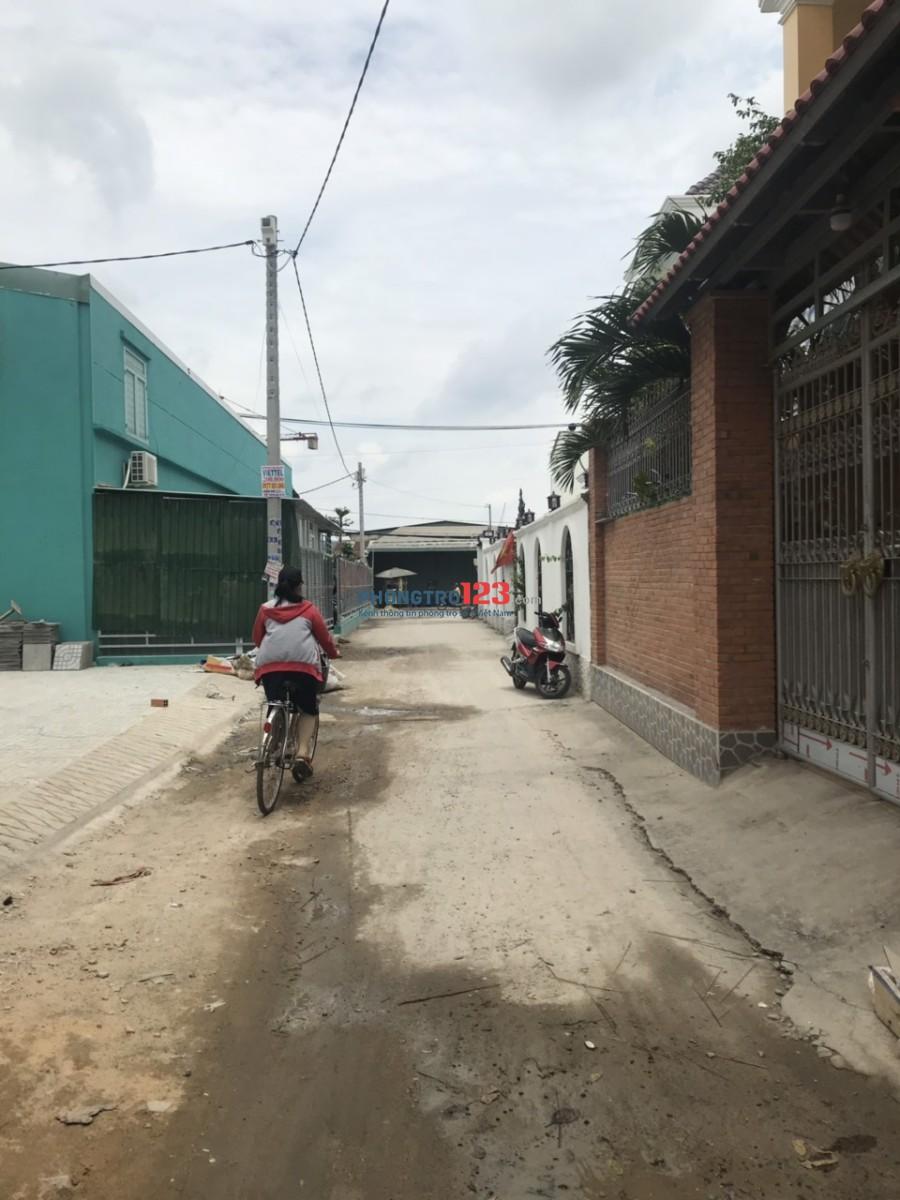 Chính chủ cho thuê nhà nguyên căn mới xây 15x16 hẻm 6m Đường Lê Văn Khương, Q.12