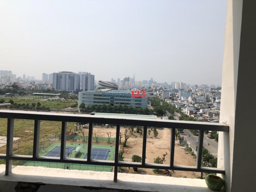 Chính chủ cho thuê căn hộ 1050 78m2 2pn Phan Chu Trinh, P.12, Q.Bình Thạnh. Giá 11tr/tháng
