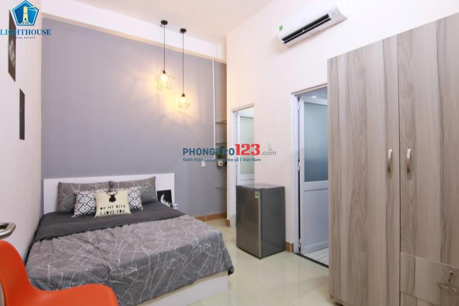 Cho thuê căn hộ dịch vụ giá rẻ đầy đủ nội thất - An ninh - Tự do - Gần Vinhomes Landmark 81