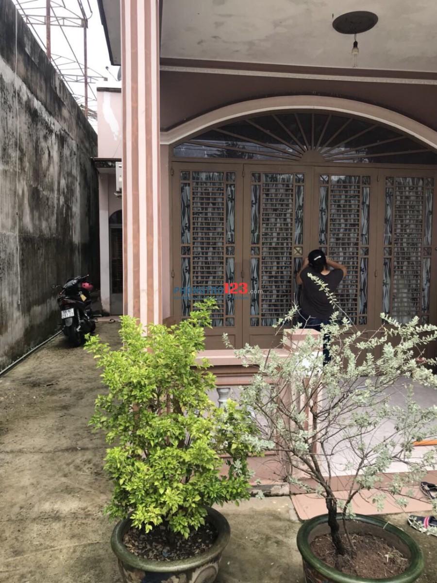 Cho thuê nhà nguyên căn 350m2 mặt tiền Trịnh Quang Nghị, Xã Phong Phú, Bình Chánh