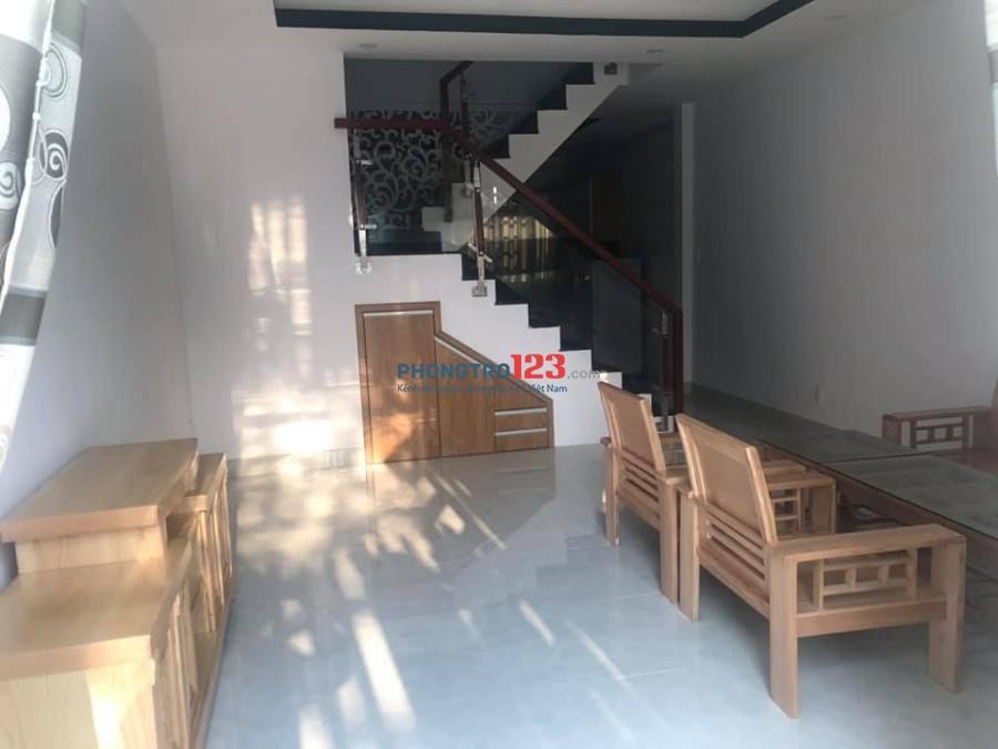 Cho thuê Nhà mới, 1 trệt 1 lầu tại Thuận An, đối diện VSIP 1, AEON Bình Dương