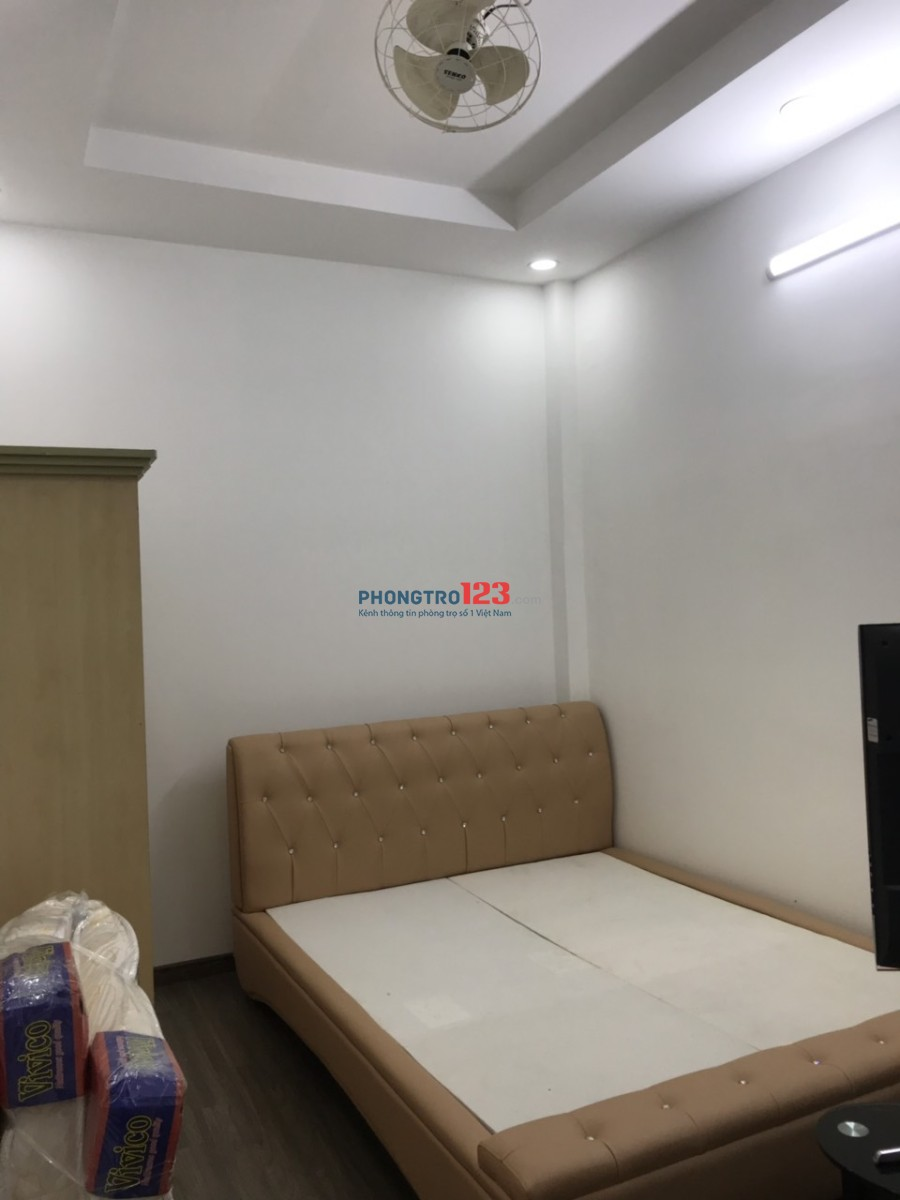 Cho thuê nhà nguyên căn hẻm 7m 2 lầu 4PN 115m2 Huỳnh Tấn Phát, Phú Thuận, Q.7