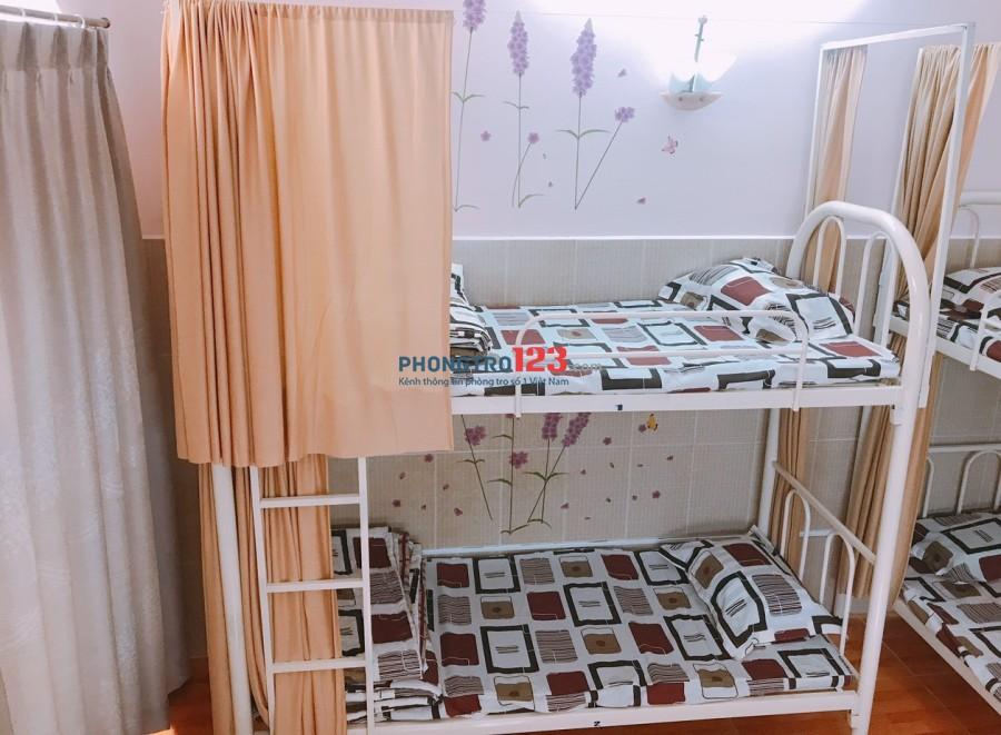 Share Phòng giường tầng kí túc xá giờ giấc tự do
