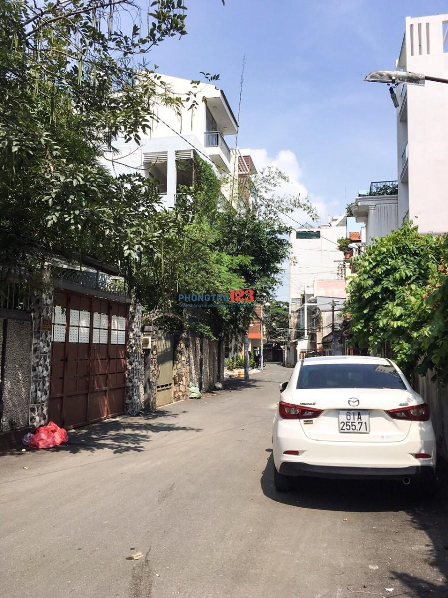 Định cư cần cho thuê căn biệt thự sân vườn dt: 14x24m, Hầm+4 tầng, đường Bùi Đình Túy, Q.Bình Thạnh