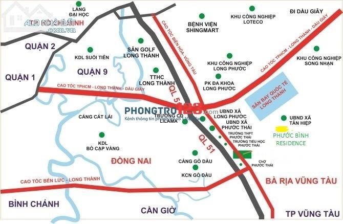 Chỉ 500 Triệu, Sở Hữu Ngay Nền Đất Vị Trí Vàng Gần Cổng Số 3 Sân Bay Quốc Tế Long Thành-Dầu Giây