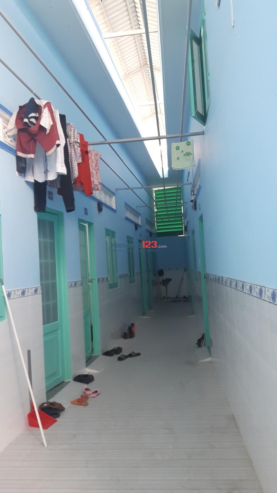 Cho thuê nhà trọ mới xây gần KCN Hiệp Phước - Long Hậu