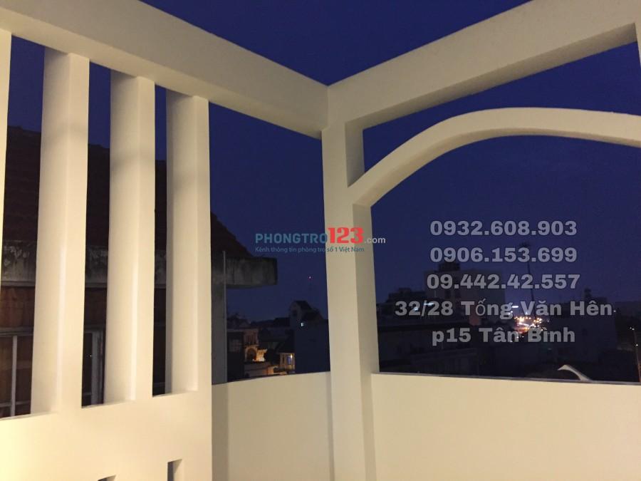 Phòng trọ cao cấp quận Tân Bình