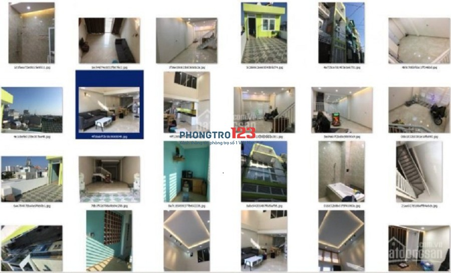 chính chủ cho thuê nhà hẻm xe hơi 4.5m 1T 3L 226 m2 đủ nội thất 4x12.5 đông nam