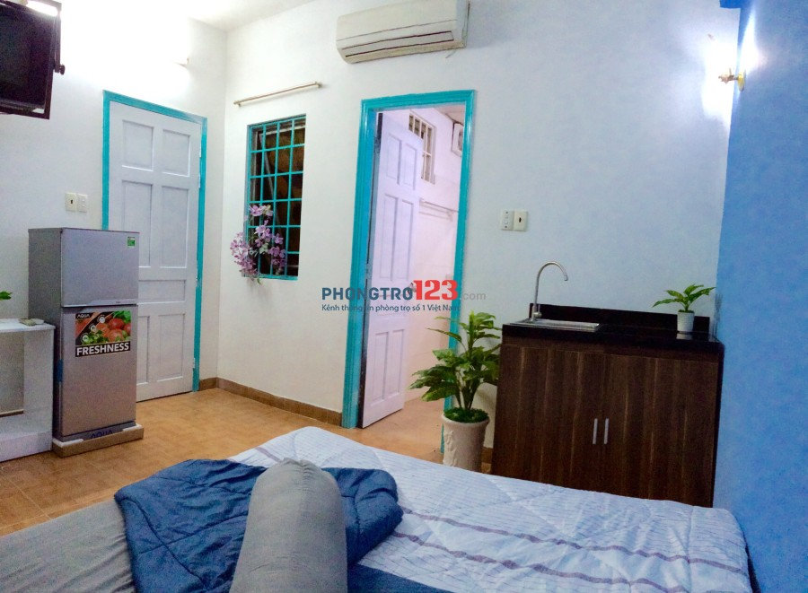 Phòng cho thuê Full Nội Thất Cao Cấp Đường Cộng Hòa Q.Tân Bình