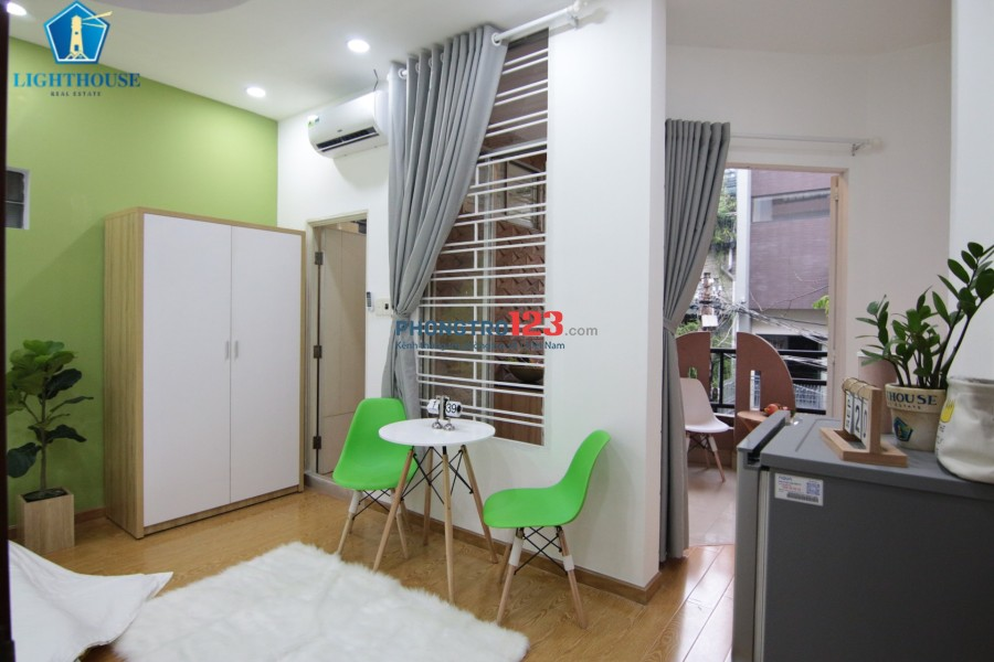 Căn hộ mới 30m2 Full nội thất Gần Chợ Phạm Văn Hai