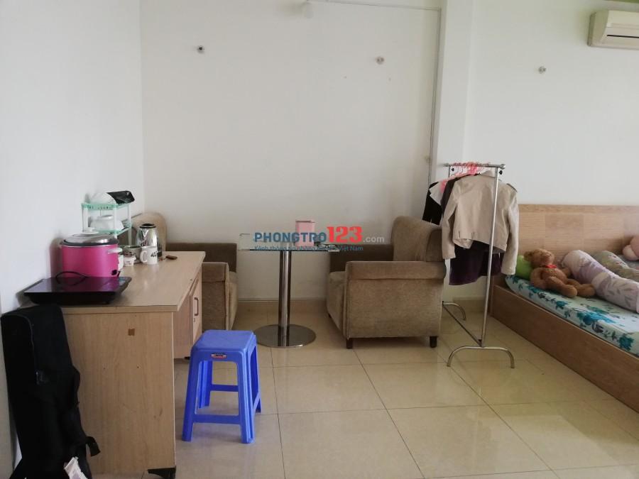 Tìm nữ ở ghép Nguyễn Duy Trinh, Q.2. Giá 2tr bao chi phí