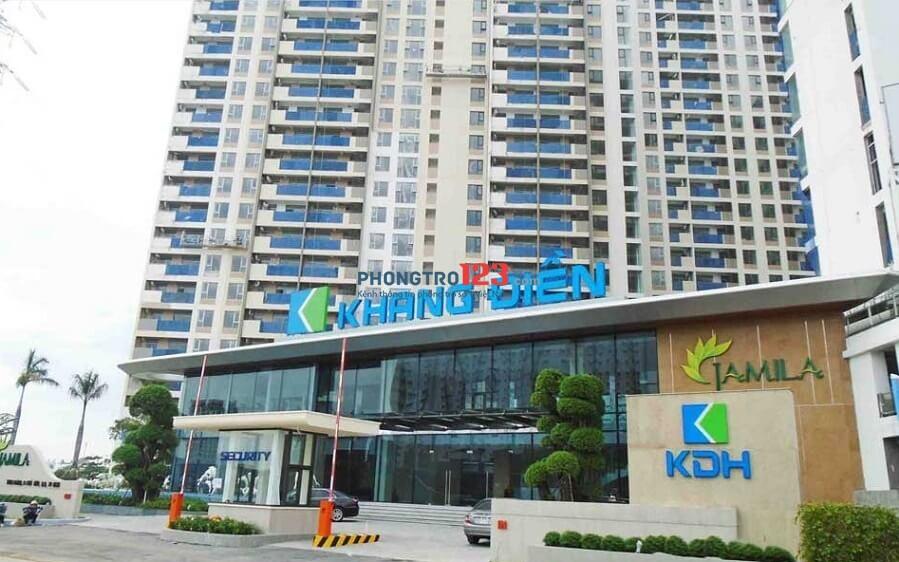 Chính chủ cho thuê Căn Hộ Jamila Khang Điền Q9 71m2 2pn, Full nội thất. Giá 15tr/tháng