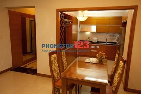 Cho thuê chung cư căn hộ CăntaVil