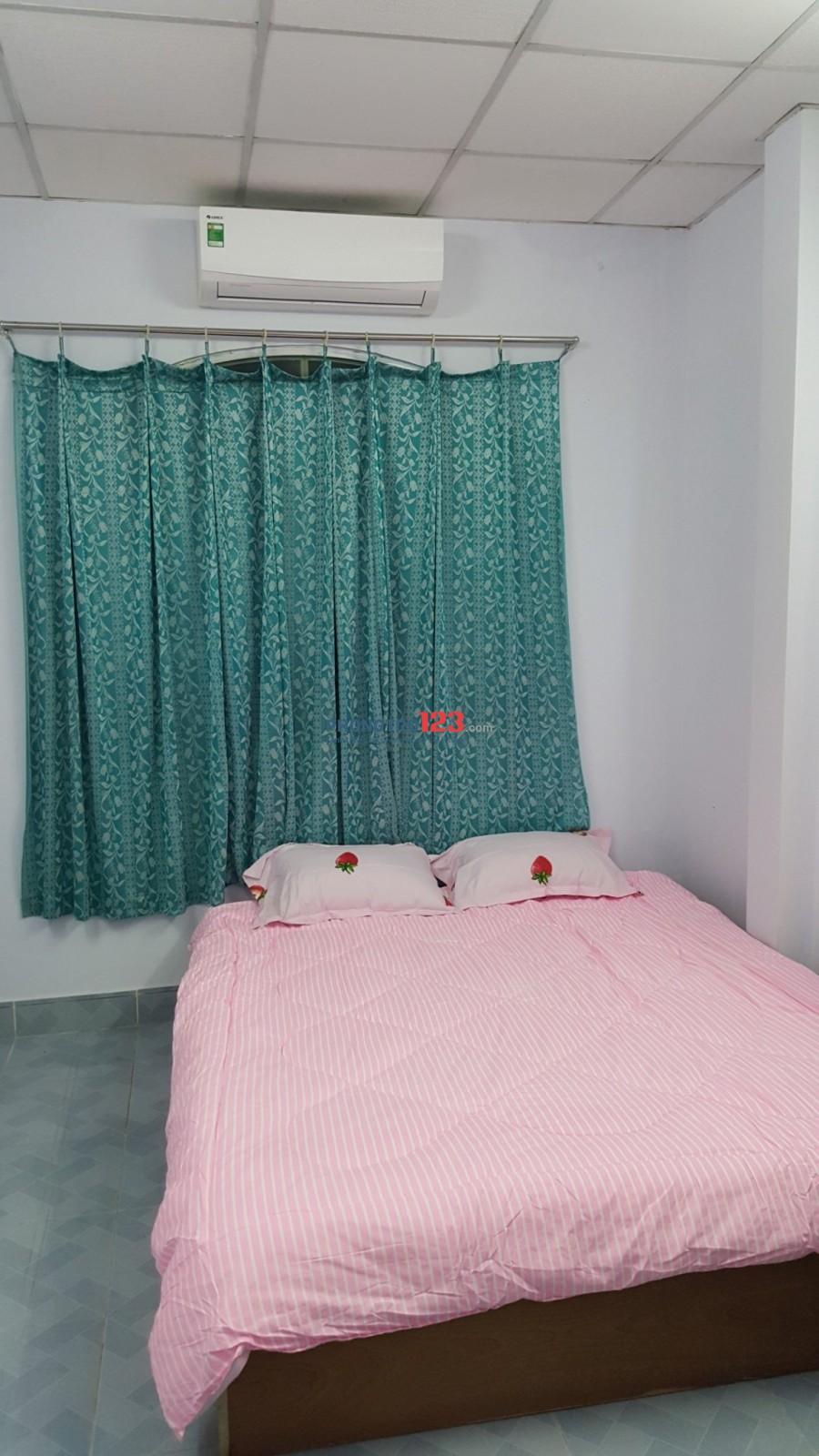 Cho thuê nhà nguyên căn full nt trệt, 4 lầu 4pn 4wc Q1 giá rẻ phù hợp kinh doanh CHDV