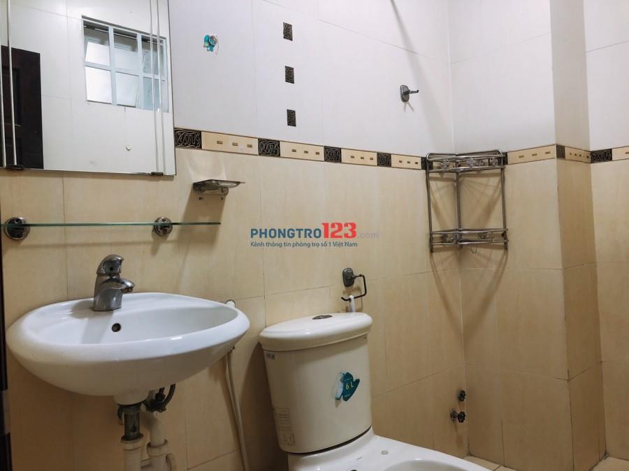 Cho thuê phòng đầy đủ tiện nghi mặt tiền đường tại 100 Võ Thị Sáu, P.Tân Định, Quận 1