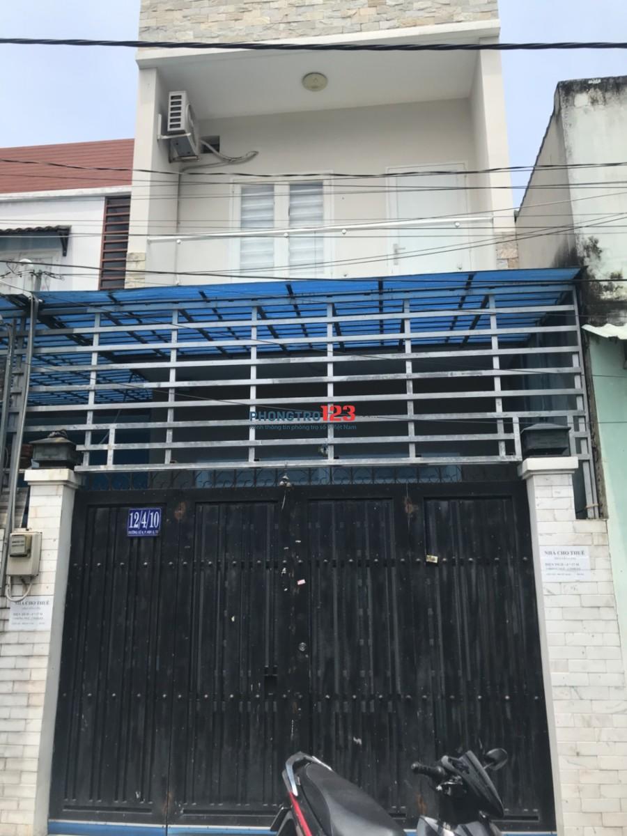 Chính chủ cho thuê nhà nguyên căn 1 lầu 3pn hẻm 6m tại Đường số 8, Hiệp Bình Phước, Thủ Đức